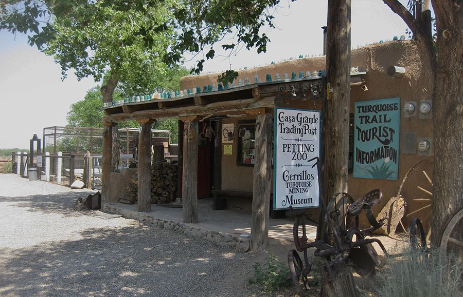 Casa Grande Trading Post in Cerrillos, NM